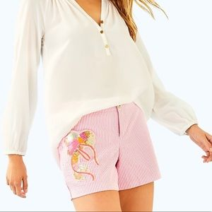NWT Lilly Pulitzer Callahan Party Shorts Size 00
